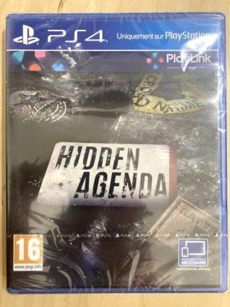 Hidden Agenda - Gamme PlayLink / PS4