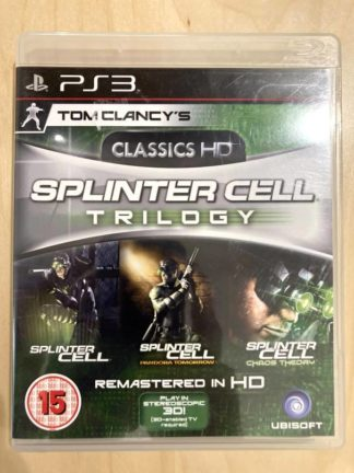 Tom Clancy's Splinter Cell Trilogy [import anglais] / PS3