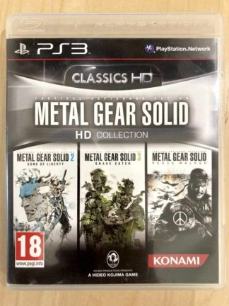 Metal Gear Solid HD Collection / PS3