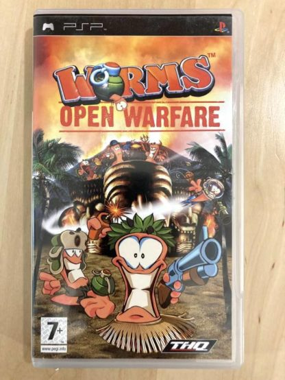 Worms : Open Warfare / PSP