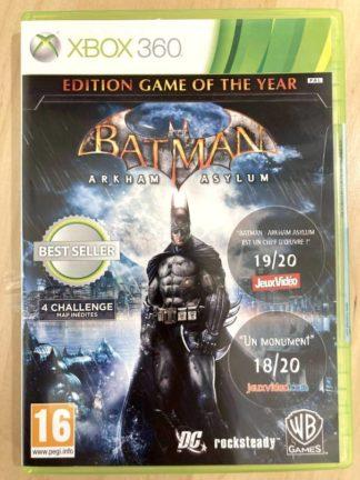 Batman Arkham Asylum - Edition jeu de l'année / XBOX 360