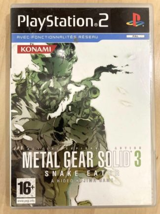 Metal Gear Solid 3 : Snake Eater / PS2