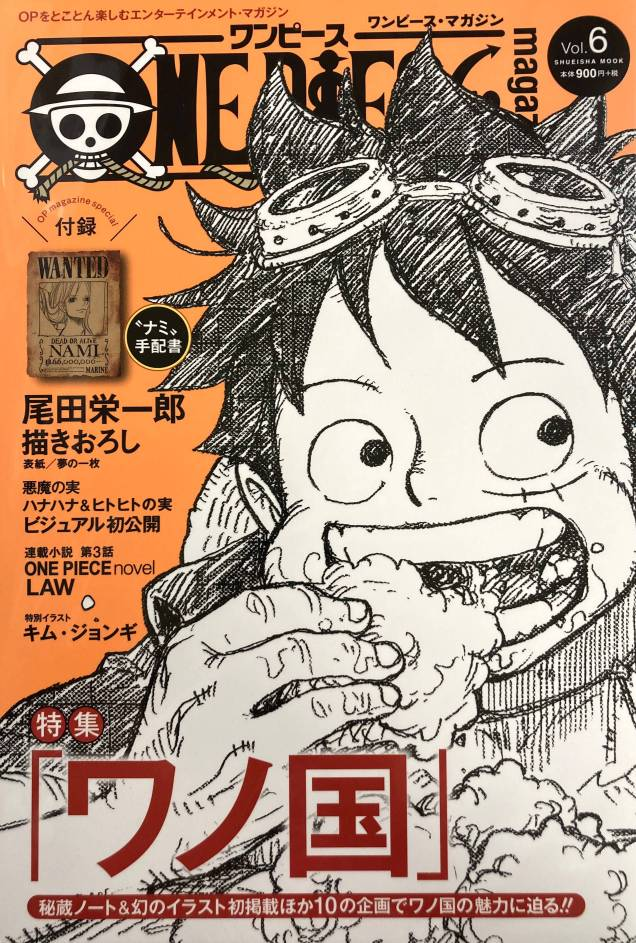 ONE PIECE magazine (Vol.6) Shueisha Mook