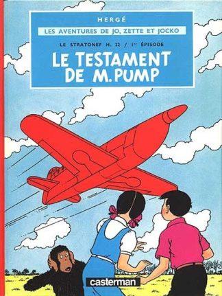 Le Stratonef H 22 Volume 1, Le testament de M. Pump